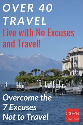 Live with no excuses not to travel