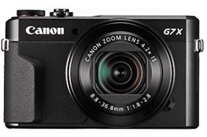 Canon PowerShot Digital G7 X Mark II camera