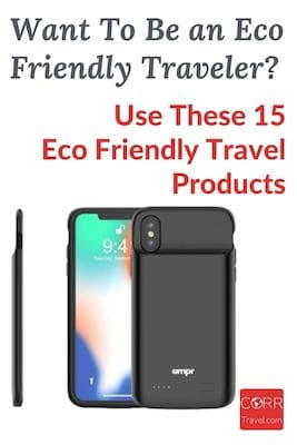 15 eco-friendly travel products Pinterest Pin