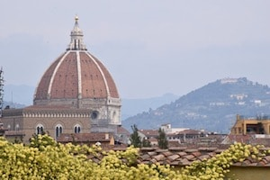 Duomo and Florence cityscape Italy