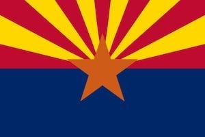 Arizona State Flag image