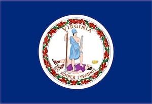 Virginia Commonwealth Flag image