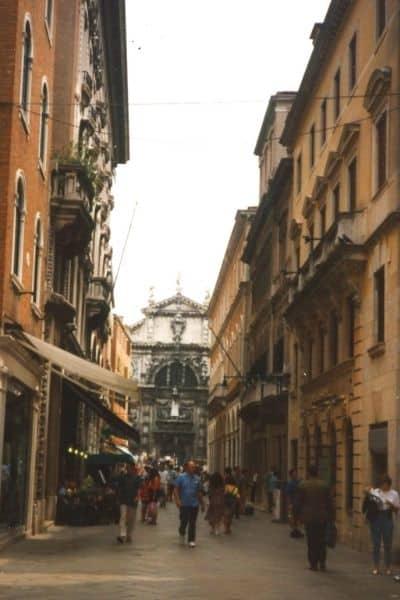Wandering Streets of Venice