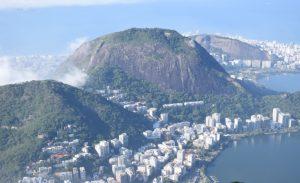 View of Rio de Janeiro and ocean, Brazil - a solo trip destination