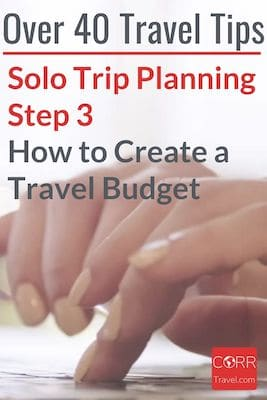 How to Create a Budget for Solo Over 40 Travel