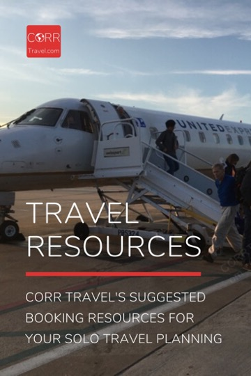 CORR Travel's Travel Booking Resources
