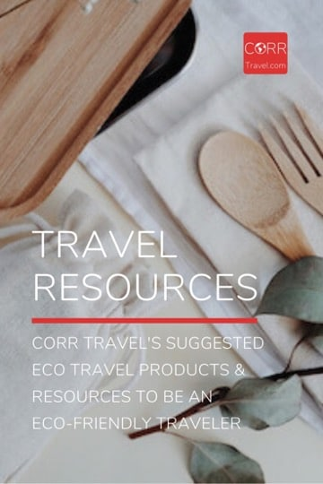 CORR Travel's Eco Travel Resources