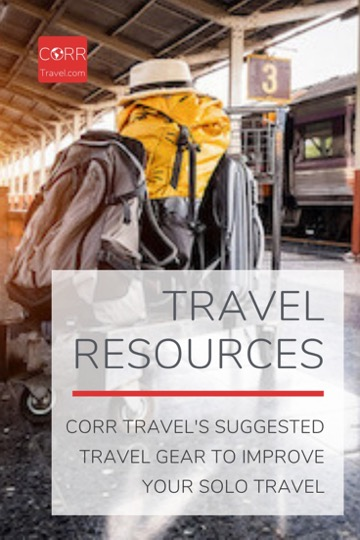 CORR Travel's Travel Gear Resources