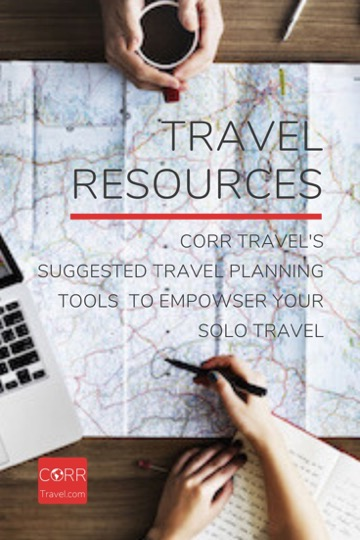 CORR Travel's Travel Planning Resources