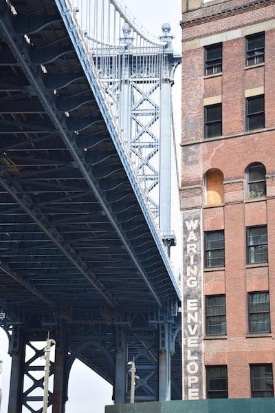 Bridge in Dumbo Brooklyn