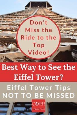 Plan Your Eiffel Tower Visit in Paris Pinterest pin