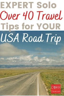 plan for a solo road trip - USA Road Trip Tips