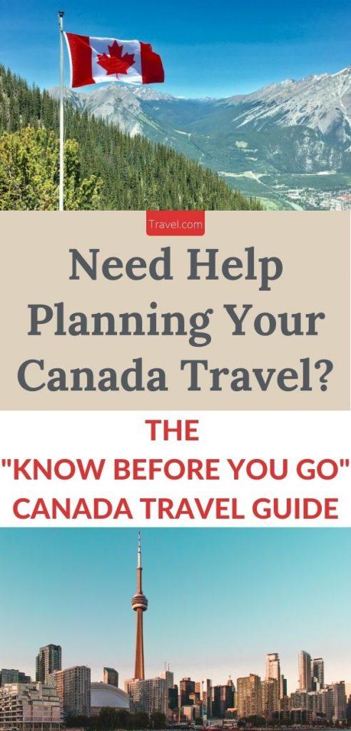 Canada Travel Guide-Pinterest long pin