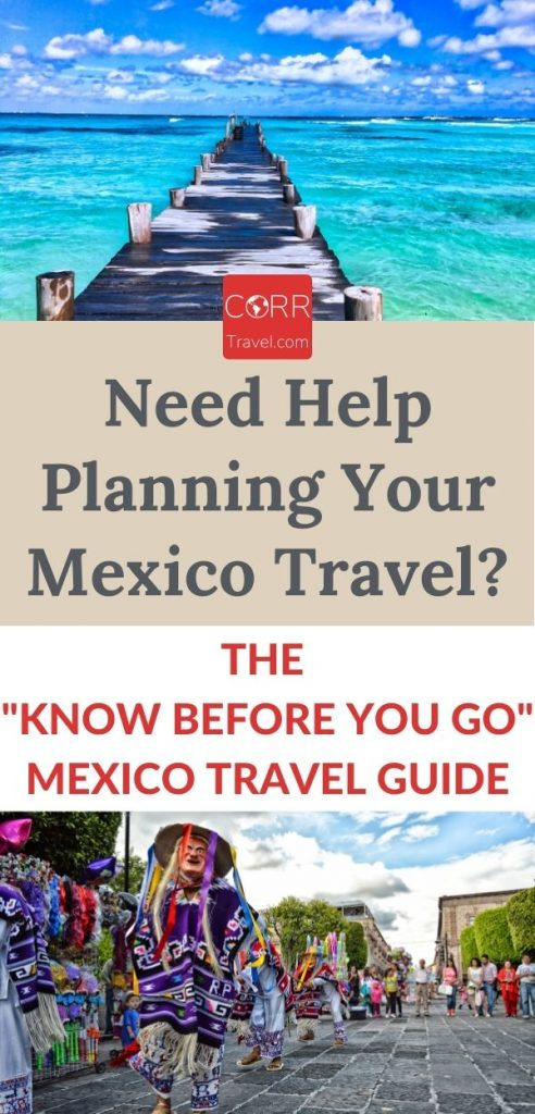 Mexico Travel Guide-Pinterest long pin