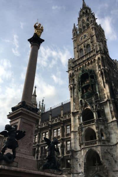 Glockenspiel Town Hall Munich