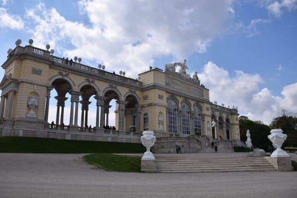 Gloriette Schonbrunn Palace Vienna Austria