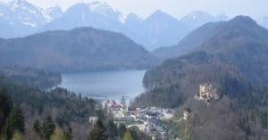 How to See Germany and Austria 14 Days Solo_Hohenshchwangau Castle