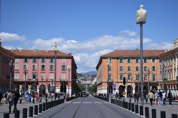 Avenue Jean Médecin Nice France