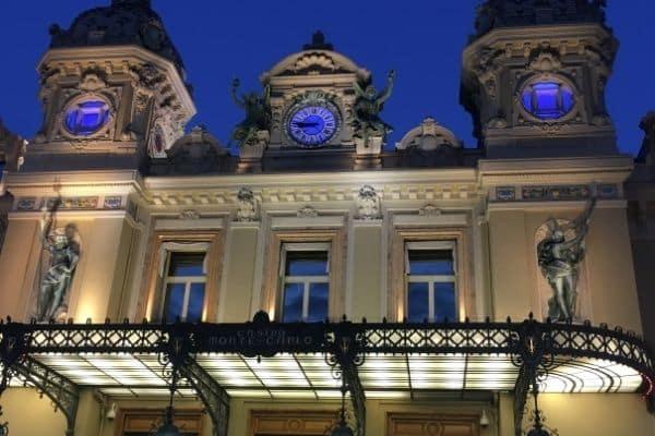 Casino de Monte-Carlo at night