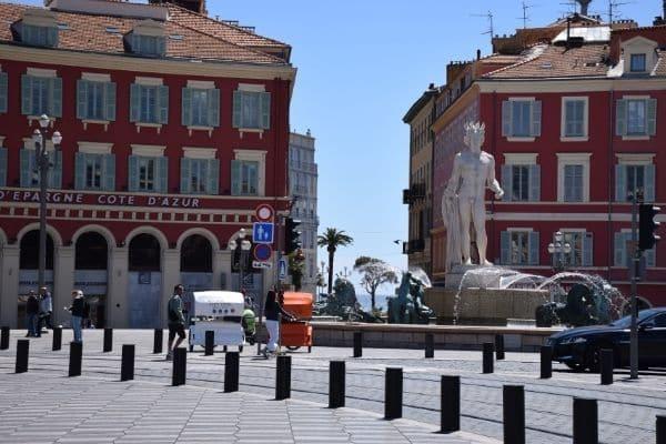Place Masséna Nice France
