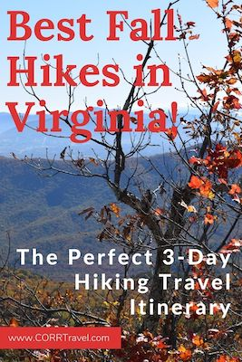Best Fall Hikes in Virginia-3 Day Hiking Itinerary