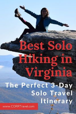 Best Solo Hiking in Virginia 3 Day Solo Itinerary