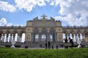 Cafe Gloriette Schonbrunn Palace Vienna Austria