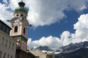 Clock tower center of Innsbruck Austria 1 Day Itinerary