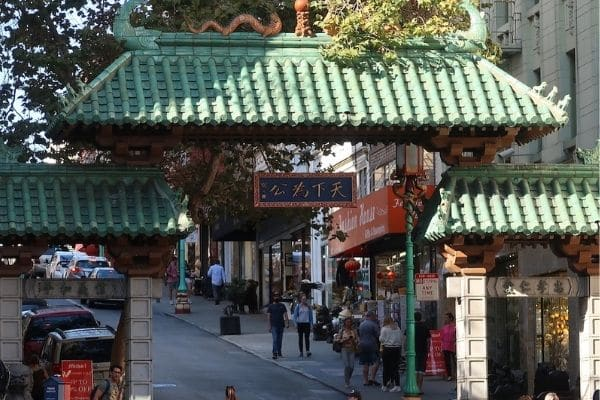 Dragons Gate China Town 1 Day in San Francisco