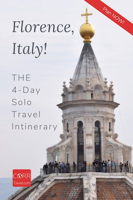 Florence Italy 4 Day Solo Travel Itinerary