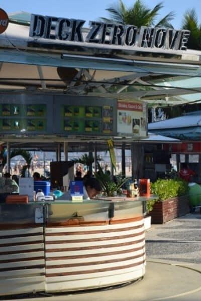 Food stand Rio de Janeiro