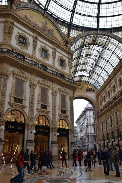 Galleria Vittorio Emanuele II_Milan Italy