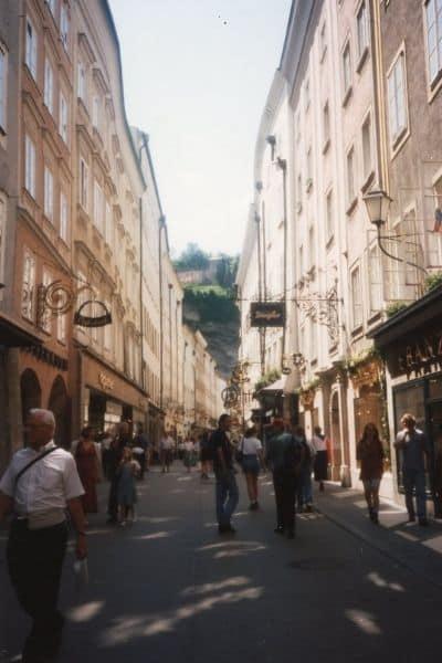 Getreidegasse Old Town Salzburg in 2 Days Itinerary