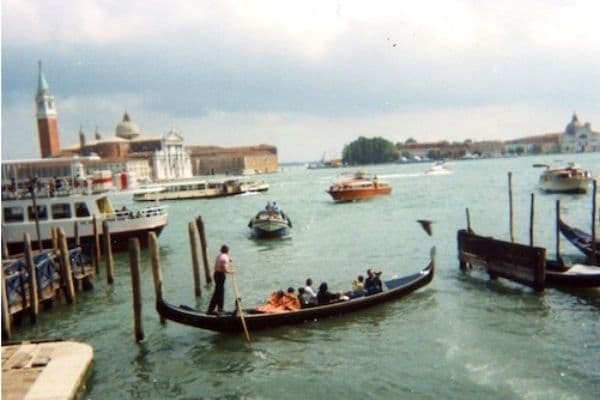 Gondolas on water Venice Italy 2 Day Itinerary