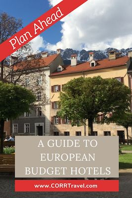 Guide to European Budget Hotels