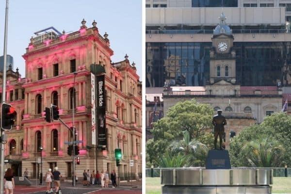 Historical buildings Brisbane Australia