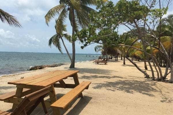 Hotel beachfront property Belize Tips and ticks
