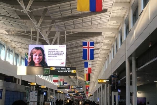 Inside airport is easier to navigate traveling alone