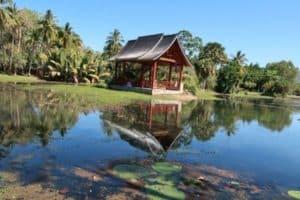 Japanese pagoda Cairns Botanical Gardens Australia