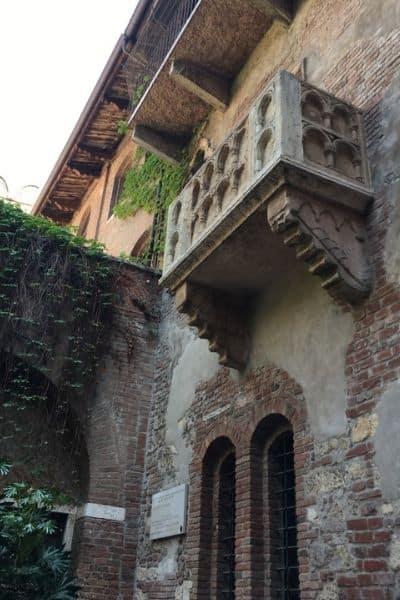 Juliets Balcony Verona Italy 2 Day Itinerary