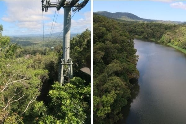 Kuranda aerial and landscape
