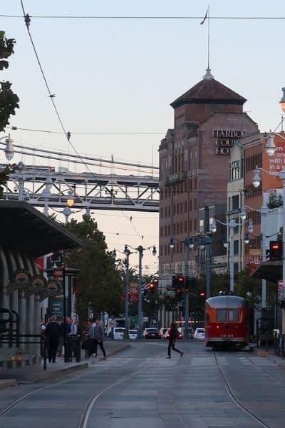 MUNI on Embarcadero 1 Day in San Francisco