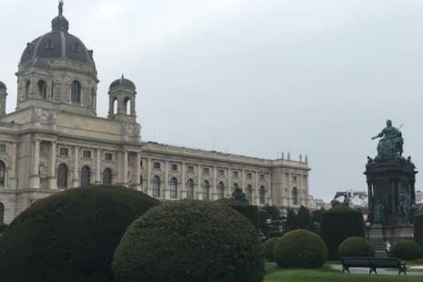 Maria Theresien Platz Square Vienna