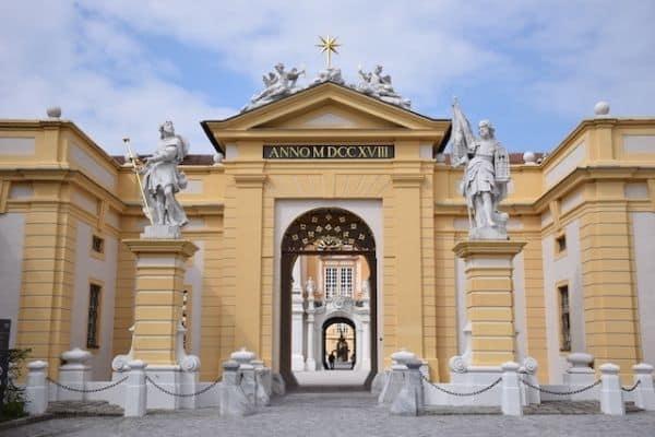 Melk Abbey entrance Austria