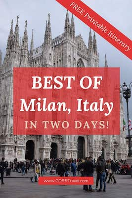 Milan Italy in 2 Days