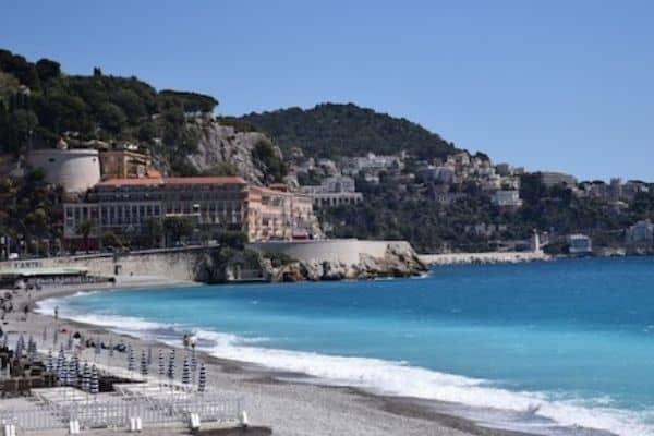 Nice France beach - international travel tips