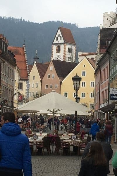 Old town Fussen Germany