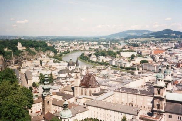 Overlooking Salzburg Austria