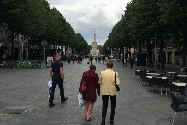 Place Drouet d'Erlon Reims France