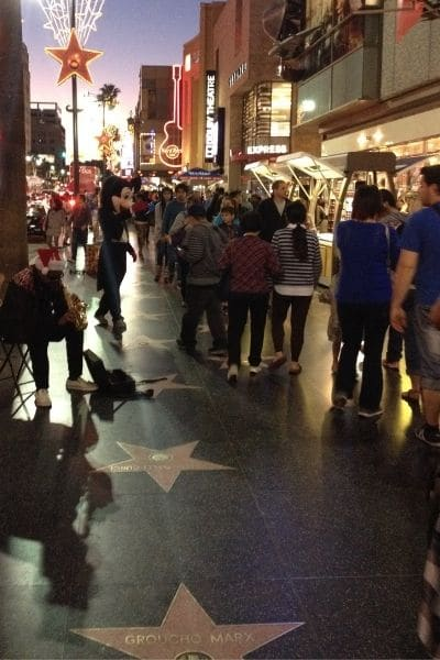 Plan solo road trip to see Hollywood Boulevard